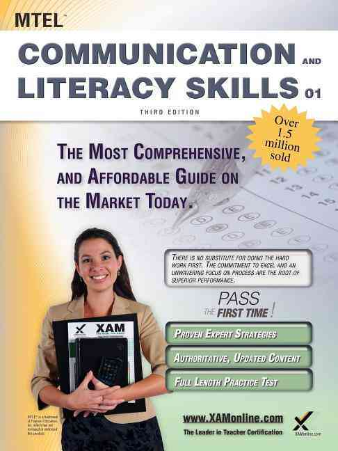 Mtel Communication and Literacy Skills 01 Teacher Certification Study Guide Test Prep By Wynne, Sharon A.
